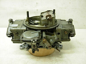 Real 1968 Shelby Mustang 289 Factory Holley Carburetor 4118 S Dated 853 Survivor