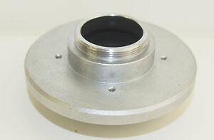 Carl Zeiss Microscope Dovetail C mount With Tv Relay Lens