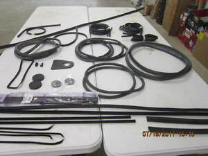 Complete Rubber Kit Fits Willys Station Wagon 48 59