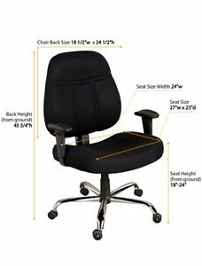 Big Tall 1 000 lb Capacity Office Chair With Arms new