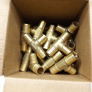 Lot Of 29 Q Pex u 1 X 1 X 1 Brass Barbed Tee Nsf pw Se