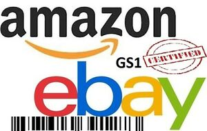 Upc Ean Gs1 Bar Codes Certified Numbers Barcodes Amazon Ebay Lifetime Guarantee