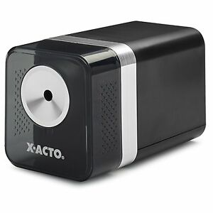 X acto Power3 Office Electric Pencil Sharpener Black Wide Use Environment