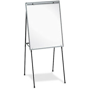 Lorell Dry erase White Board Easel