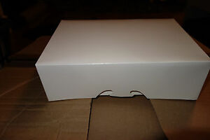 250 Count White 9 1 2 X 6 1 2 X 3 Bakery Or Cake Box