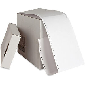 Sparco Continuous Feed Punched Index Cards