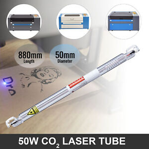 50w Co2 New Laser Tube 800mm For Engraving Cutting Machines Engraver