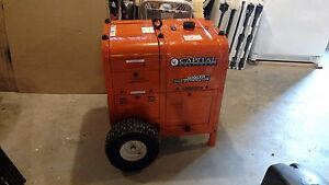New 9000 Watt Commercial Gas Generator Capital Equipment
