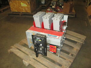 Federal Pioneer 50h 3 2000a Mo do Lsig Air Circuit Breaker W ac pro