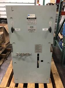 Westinghouse Dfs Air Switch 5kv
