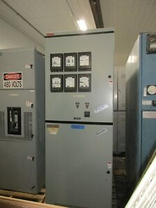 Westinghouse Vacclad w 15kv 1200a Single Section Switchgear