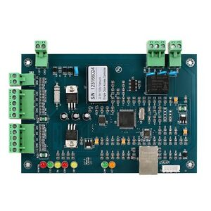 Wiegand Tcp ip Network Entry Access Controller Board Panel For 1 Door 2 Reader