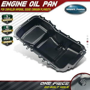 Engine Oil Pan For Dodge Grand Caravan Plymouth Voyager Chrysler Town