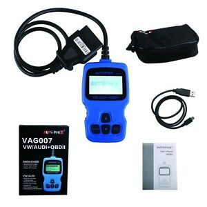 Vag007 Vw audi Obdii Scan Support Oil Reset Fast Diagnosis Vag007 Code Reader