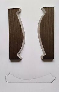 Corrugated Moulder shaper Knives Crown Moulding Profile