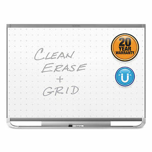 Quartet Prestige 2 Magnetic Total Erase Whiteboard 36 X 24 Graphite Frame