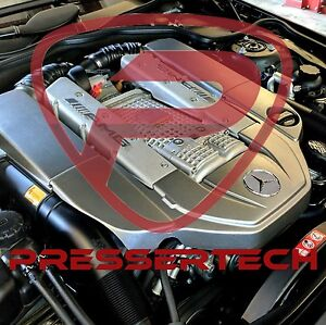 Mercedes 55 Kompressor Stage 1 Custom Performance Tune Using Your Cars Data