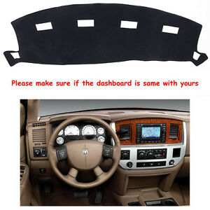 Dashmat For Dodge Ram 1500 2500 3500 2002 2008 Dashboard Mat Carpet Dash Cover
