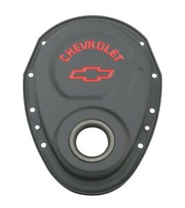 Proform 141 753 Gm Performance Sb Chevy Black Crinkle Timing Chain Cover
