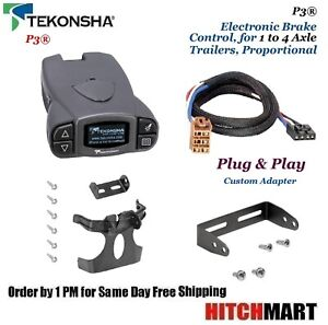 Prodigy P3 Trailer Brake Control W Adapter For 1999 2002 Silverado Sierra 90195