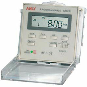 Apt 6s 1 Weekly Programmable Timer Dc 12 48v