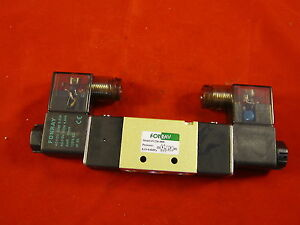Air Pneumatic Solenoid Valve 2 Position 5 Way 1 4 4v220 08 f ac110v Fonray