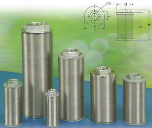 Hydraulic Suction Line Filters n Type Sfn 08 1 Pt