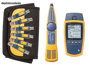 Fluke Networks Ms2 kit Network Cable Tester Kit With Probe