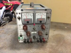 Power Designs Transistorized Twin Power Supply Model Tw 4005 Tested And Working