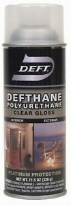 Defthane Spray Polyurethane Finish Pack Of 6 Partno Dft108s 54 By Deft