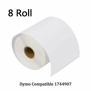 Dymo 4xl Direct Thermal Shipping Labels 4x6 8 Rolls1744907 Compatible 220 roll
