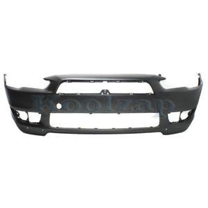 Capa 08 15 Lancer Front Bumper Cover Assy With Air Dam Holes Mi1000319 6400b914