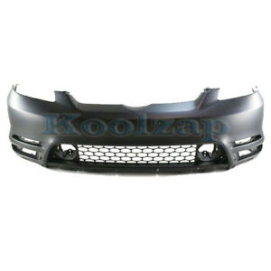 Capa For 03 04 Matrix Front Bumper Cover Assembly W Spoiler Holes To1000237