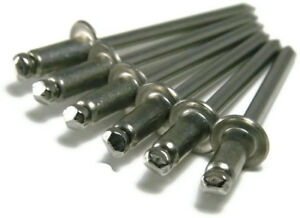 Pop Rivets Stainless Steel Blind Rivets 4 6 1 8 X 3 8 Grip Usa Made Qty 1 000