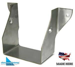 316 Stainless Steel Joist Hangers Jus24 2 Lus24 2 Deck 2 X 4 Double Qty 5