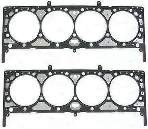 Small Block Chevy 283 400 Head Gasket Set Engine Works 111400mls 2 pack