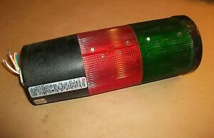 Federal Signal Beacon Stack Light Litestak Lsb 120 Red Green 120vac