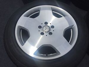 4 Genuine Mercedes Benz S600 18 In Wheels Tires Rims S500 S550 V12 A221