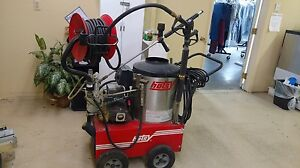 Used Hotsy 555ss Electric Hot Water Pressure Washer With Optional Hose Reel