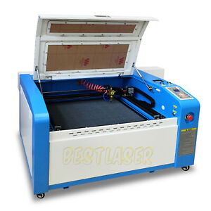 Rdworks Reci 100w Co2 Laser Engraving And Cutting Machine 600mm 400mm Motor Z