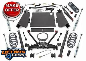 Procomp K3092b 4 Long Arm Lift Kit W Es9000 Shocks 2003 2006 Jeep Tj Wrangler
