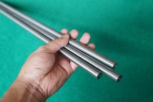 13mm Dia Titanium 6al 4v Round Bar 0 511 X 59 Ti Gr 5 Metal Grade 5 Rod 3pc