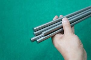 11mm Dia Titanium 6al 4v Round Bar 433 X 59 Ti Gr 5 Metal Grade 5 Rod 5pc