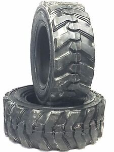 2 23x8 50 12 12ply Skid Loader Tire 23x8 50x12 Compact Tractor New Tires