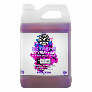 Chemical Guys Extreme Body Wash Wax With Color Brightening Technology 1 Gal