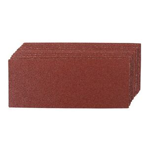 10 X 1 3 Sanding Sheets Sandpaper Assorted Grade Use With Clip Sander Machines