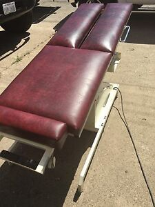Tri W g Model 645 Hylo Tilt Adjustment Table Chiropractic Physical Therapy