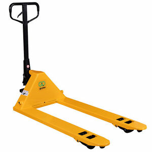 Hydraulic Pallet Jack Hand Truck 27 x48 5500lbs Capacity Free Local Pick Up