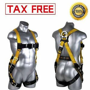 Guardian Fall Protection Body Strap Harness Safety Seraph Construction Emergency