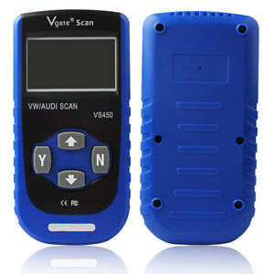 Vgate Vs450 Obd2 Obdii Diagnostic Airbags Scanner Tool For Audi Seat Skoda Vw